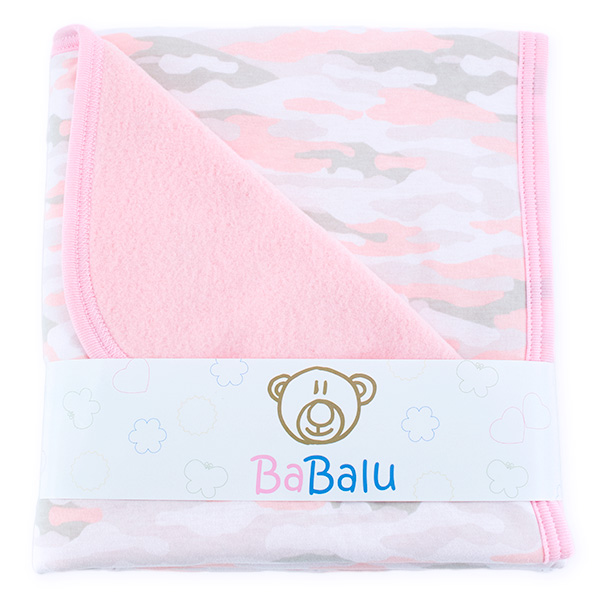 Baby fleece-cotton blanket 016 morogirl