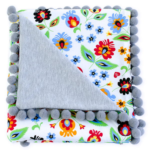 Cotton blanket Sophie 072 folk 80x90