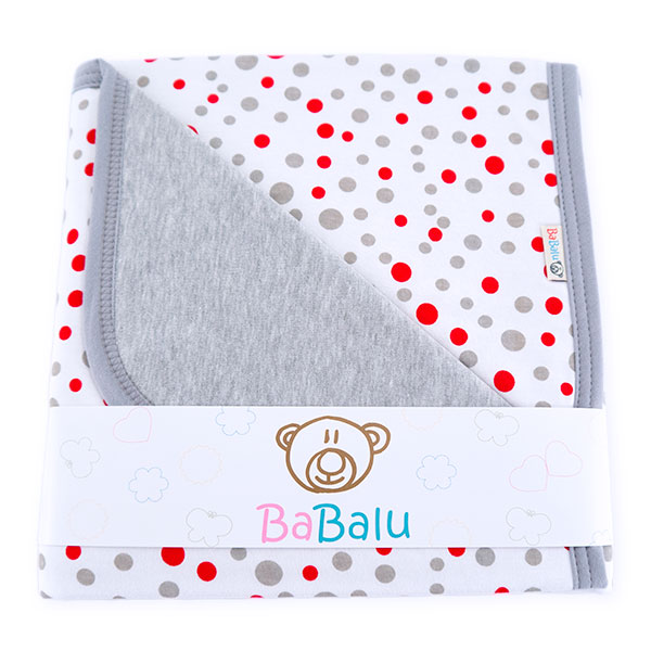 Cotton blanket Sophie 073 dots 80x90