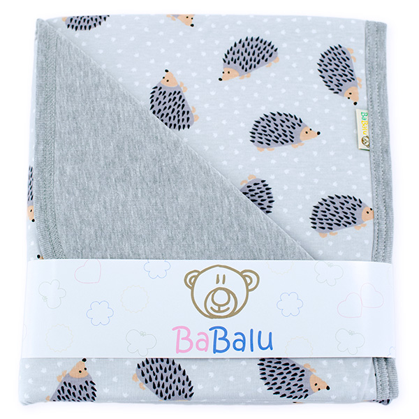 Cotton blanket Sophie 073 hedgehog 80x90