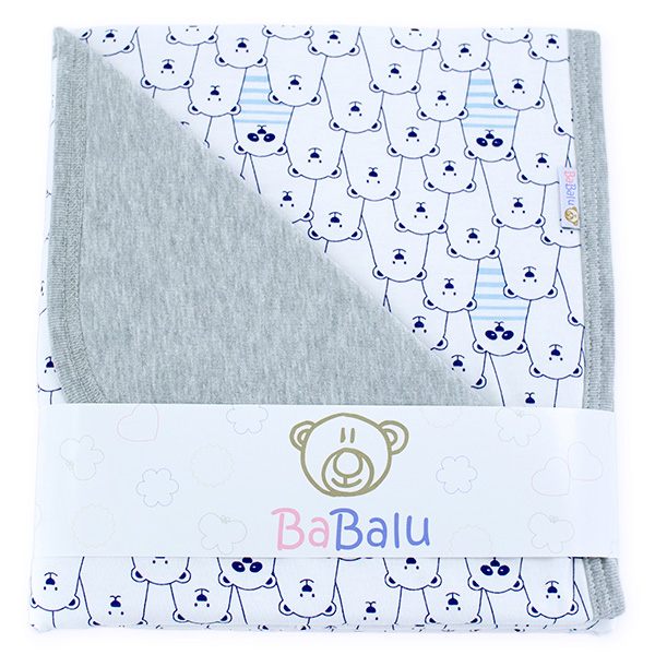 Cotton blanket Sophie 073 funny bears