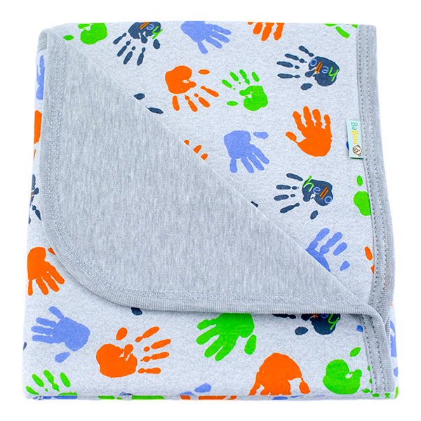 Cotton blanket Sophie 073 Hello 80x90