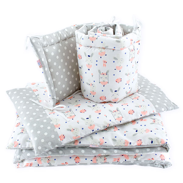 BaBalu double layer bedding set-5el. 100x120 princessa