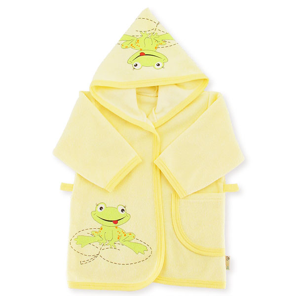 Bathrobe frog 86-92cm yellow 042