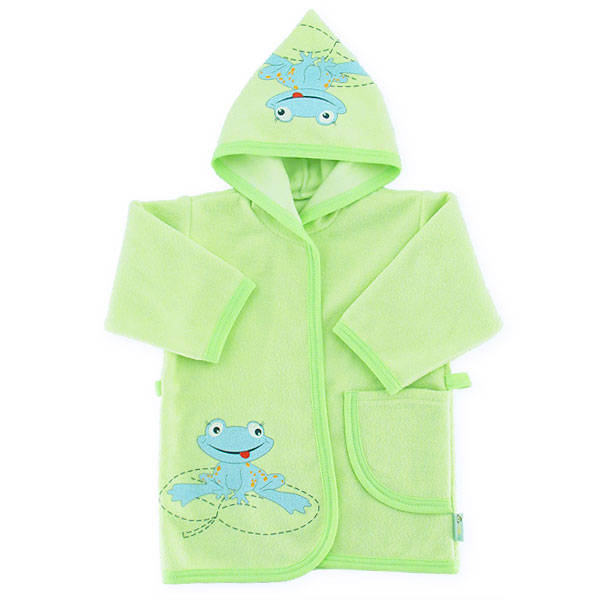 Bathrobe frog 86-92cm green 042